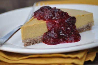 The Whole Life Nutrition Kitchen: Gluten-Free Pumpkin Cheesecake Recipe (Vegan)