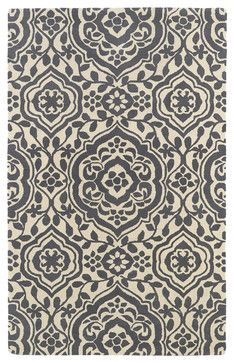 "Kaleen Evolution Collection Evl04-75 5'X7'9"" Grey - transitional - Area Rugs - Kaleen Rugs"