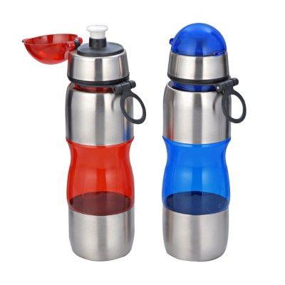 Metal - Plastic Sipper bottle