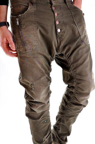 Pantaloni handmade pentru barbati P3275Y, marca Different Cut