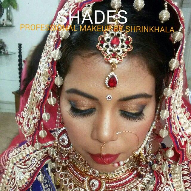 Bride#indian#asian#tika#nath#shimmer#eyemakeup