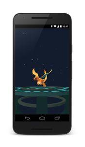 Pokémon GO Evolution Screenshot