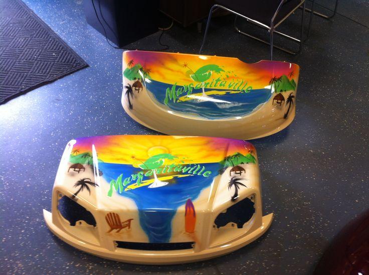 Margaritaville custom painted ST body our custom themed