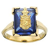 Ooh, wish they had this when I was a colleget. Birthstone and DG crest. @DeltaGammaFraternity.