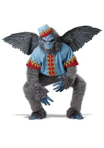 You'll be a wild beast with the help of this Scary Winged Monkey Costume. It's great for any Oz group!
