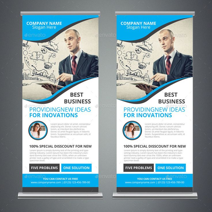 Business Rollup Banner Templates #Rollup, #Business, #Templates, #Banner
