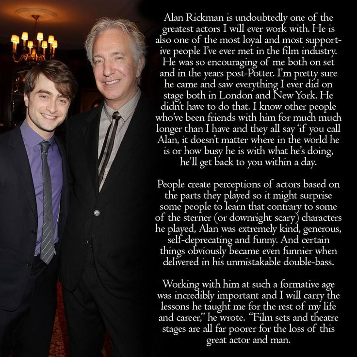 93 best Alan Rickman In Memoriam images on Pinterest
