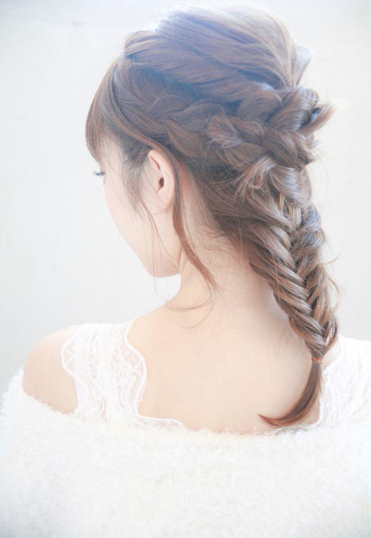 ミディアム まとめ髪はシーン別に雰囲気を操っちゃおう 画像あり