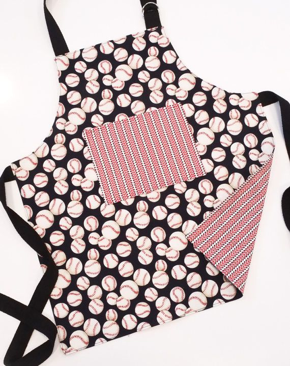 Reversible apron for kids by cherrybombcreative.etsy.com
