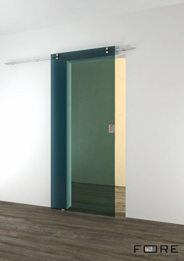 Drzwi szklane z kolorem, przesuwne. Glass doors.www.fore-glass.com, #drzwi #drzwiszklane #drzwiwewnetrzne #szklane #glassdoor #glassdoors #interiordoor #glass #fore #foreglass #wnetrza #architektura