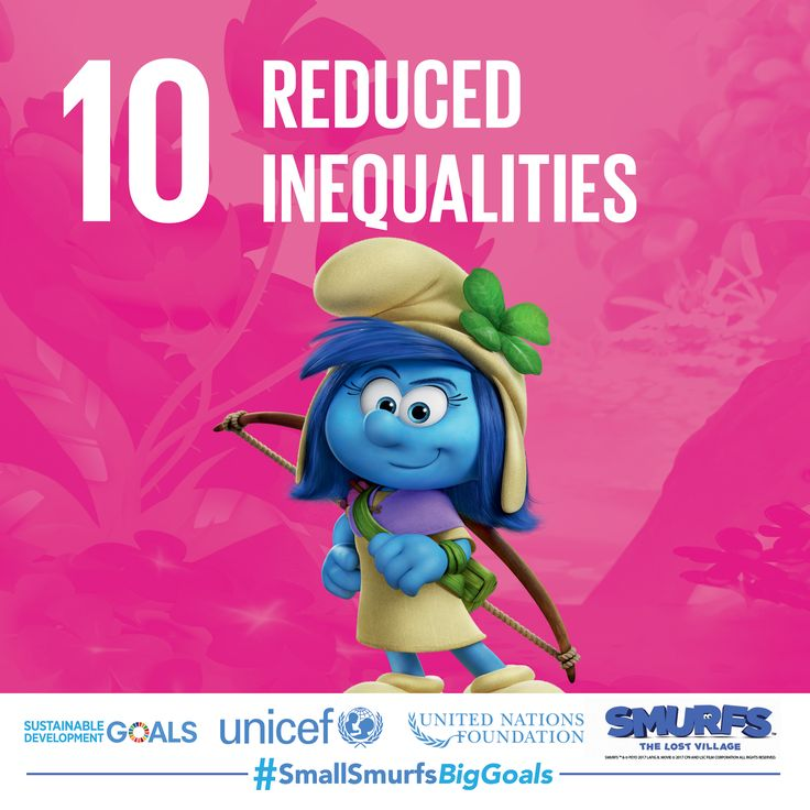 In Smurf Village, everyone is a valued member of #TeamSmurfs. Find out how you can raise your voice against discrimination at SmallSmurfsBigGoals.com.  #SmallSmurfsBigGoals