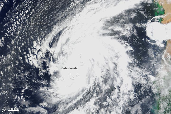 Hurricanes in the Atlantic Ocean typically start to develop off the west coast of Africa, then move westward across the basin and intensify as they approach North America or the islands of the Caribbean and Gulf of Mexico. In the last days of August 2015, that storm development process went into overdrive. On August 30, an easterly wave from the African interior moved out over the Atlantic, where sea surface temperatures hovered around 30° Celsius (86° Fahrenheit).1st hurricane since 1892.