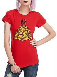 HOTTOPIC.COM - Marvel Deadpool Tacos Girls T-Shirt