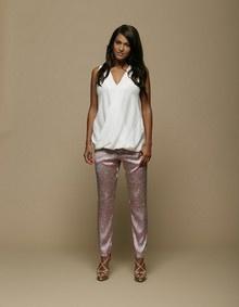 Saseline in Rützou SS13 top and pants | Fashion by Emma