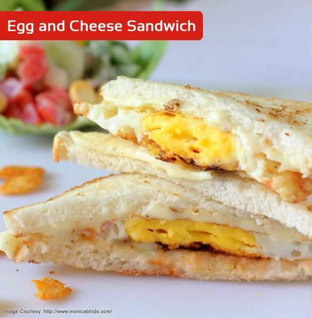 Sandwiches filled with a mixture of scrambled eggs, boiled eggs and mayonnaise by Chef Sanjeev Kapoor! Click here for recipe :- http://wonderchef.in/blog/?p=1216  Use Click Space Saver Frying Pan by Wonderchef for better results. Buy here :- http://wonderchef.in/default/click-space-saver-frying-pan-24cm.html