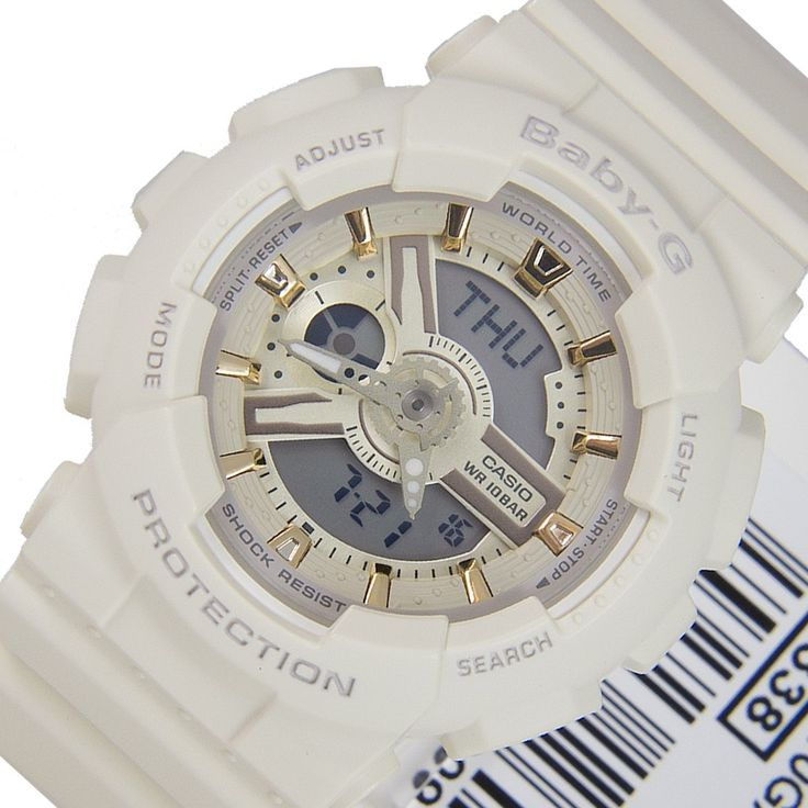 A-Watches.com - BA-110GA-7A2 Casio Quartz Baby-G World Time Shock Resistant Ladies Timer White Watch, $126.00 (http://www.a-watches.com/ba-110ga-7a2-casio-quartz-baby-g-world-time-shock-resistant-ladies-timer-white-watch/)