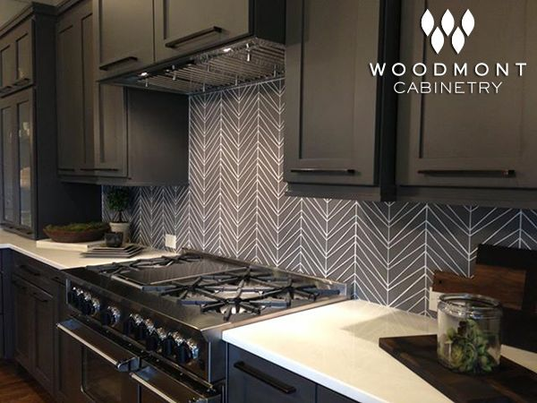 Black Fox Designer Paint   Kitchens By Woodmont Cabinetry The Jae Company  Parade Of Homes