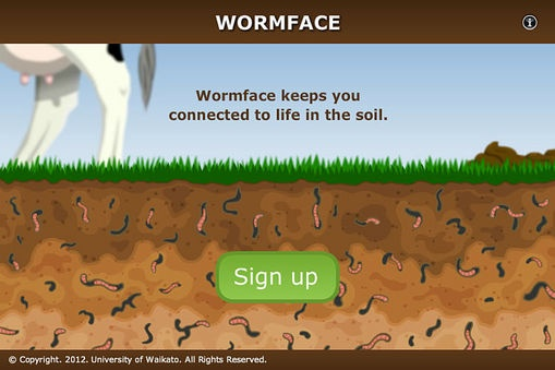 8.Assess student understanding of adaptation and niche with the interactive Wormface – social networking for earthworms. Print the activity for student portfolios.