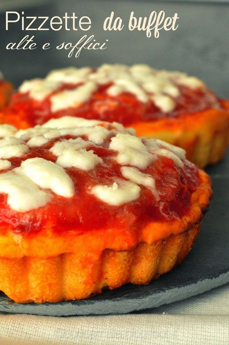 Burro e Malla: Pizzette da buffet alte e soffici