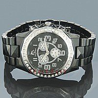 Ceramic Watches Techno Master Mens Diamond Watch 1ct