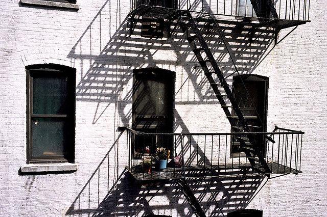 Washington Heights Fire Escape | New York City, via Flickr.