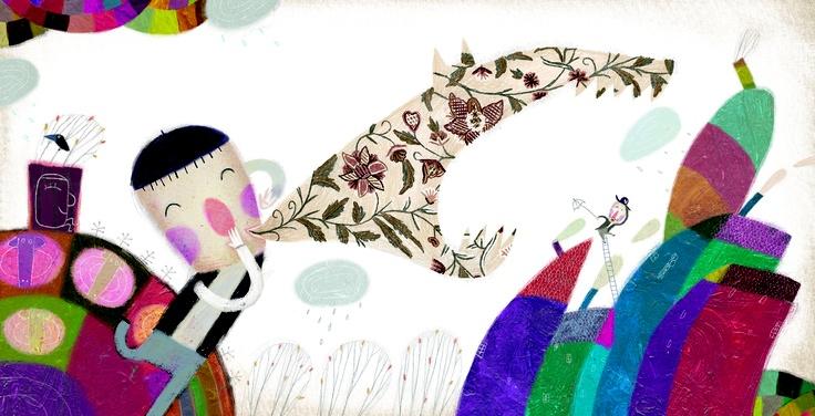 Jacobo Muñiz ilustra el cuento Pedro y el Lobo, la historia del pastor mentiroso. Edelvives, la editorial de literatura infantil y juvenil, incluye este cuento en la colección Colorín Colorado para primeros lectores.