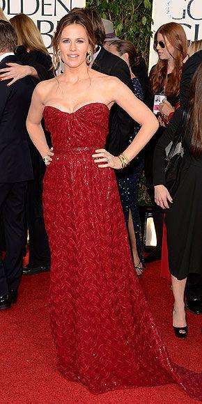 Jennifer Garner in Vivienne Westwood Couture - 2013 Golden Globe Awards