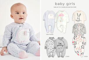 Babypyjama's en slaapzakken - Meisjes
