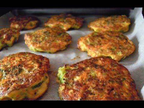 Tortitas de Brocoli Sin Capeado. - YouTube