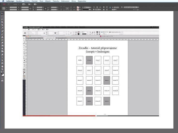 Jak vytvořit layout časopisu 3. díl...