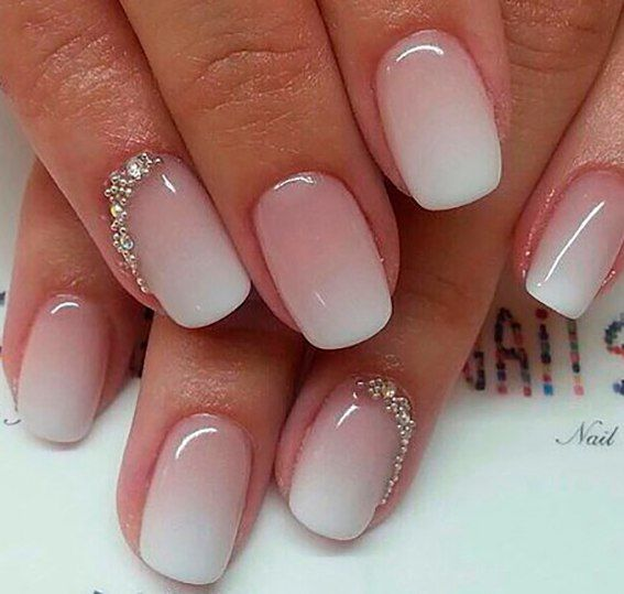 Simple Acrylic Nails. 30 ombre nail arts that you will ...