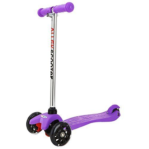 ALLEK Brand: 1. For those little riders who just learning the basics of balance and coordination, the ALLEK mini scooter is their best choice. Its three-wheels, extra-wide and slip resistant pedal gives new riders stability to build their confidence and improve their riding skills. 2. ALLEK mini... more details available at https://perfect-gifts.bestselleroutlets.com/gifts-for-teens/skates-skateboards-scooters/product-review-for-3-wheel-scooter-allek-lean-to-steer-deluxe-3-fl