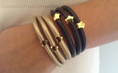 Extremely fashionable golden plated bracelets by Ozzi Jewellery Price:15e  #fashion #jewelry