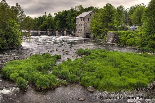 Watson's Mill. Manotick, Ontario, 1859-60.
