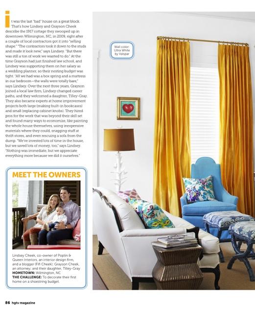 HGTV Magazine: Photos + Details