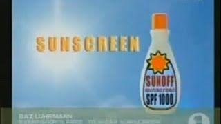 Baz Luhrmann - Everybody's Free To Wear Sunscreen - YouTube