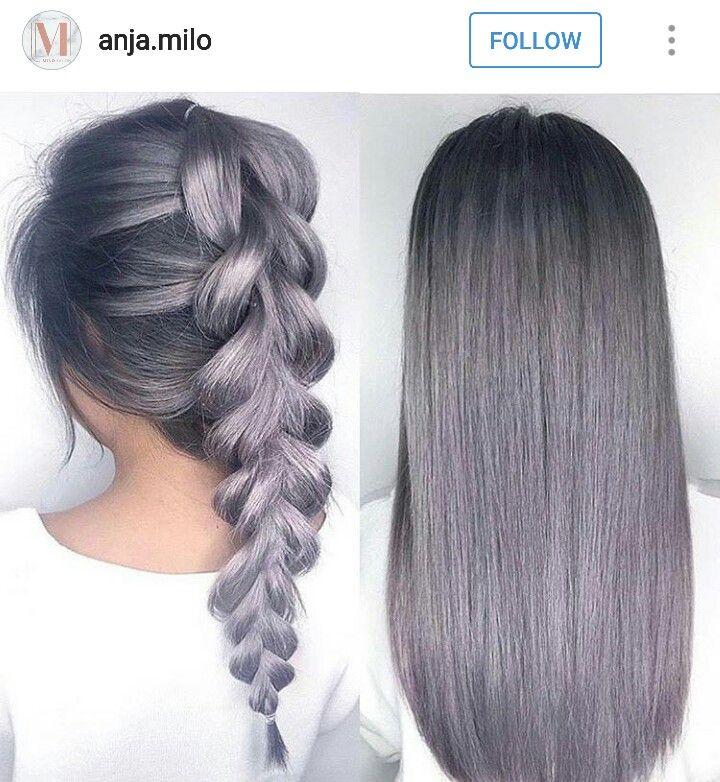 25+ best Dark grey hair dye ideas on Pinterest | Dark pastel hair ...