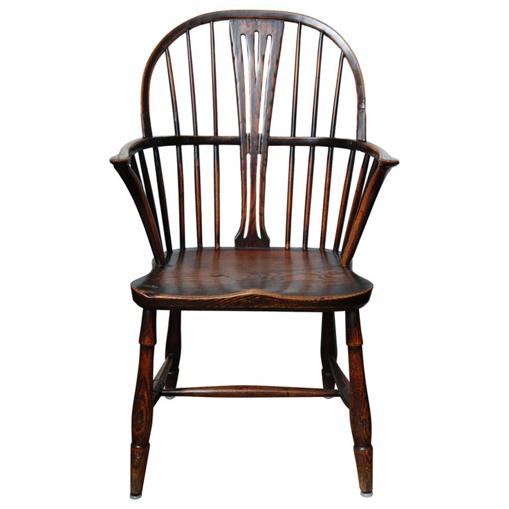 19th Century English Windsor Armchair