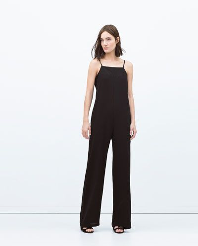 ZARA - WOMAN - LONG JUMPSUIT WITH OPEN BACK