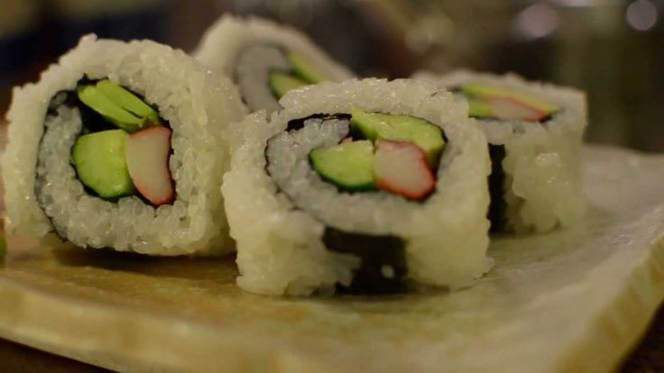 How to Make Sushi Rolls - For @Bailey Francine Kee   :)