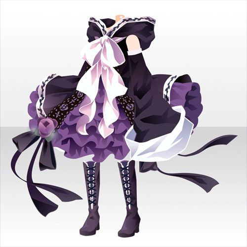 Rose Witch One-Piece ver. A Purple