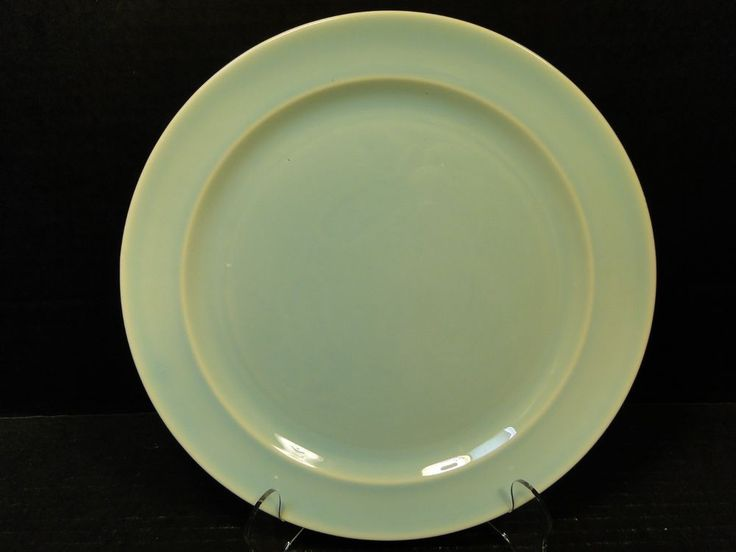 """Taylor Smith Taylor Luray Pastels Green Dinner Plate 10"""" EXCELLENT  #TaylorSmithTaylor"""