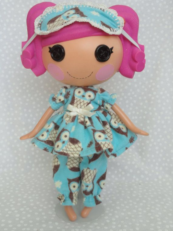 Hey, I found this really awesome Etsy listing at http://www.etsy.com/listing/163940795/lalaloopsy-doll-pajamas-and-sleep-mask