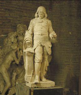 Jean-Bertrand LOUBENS, (Toulouse, 1848 - ?, 1913), Pierre de Fermat (mathématicien, polymathe, poète), 1890, Inv. 49 3 27. Non exposée. © Musée des Augustins, Toulouse.