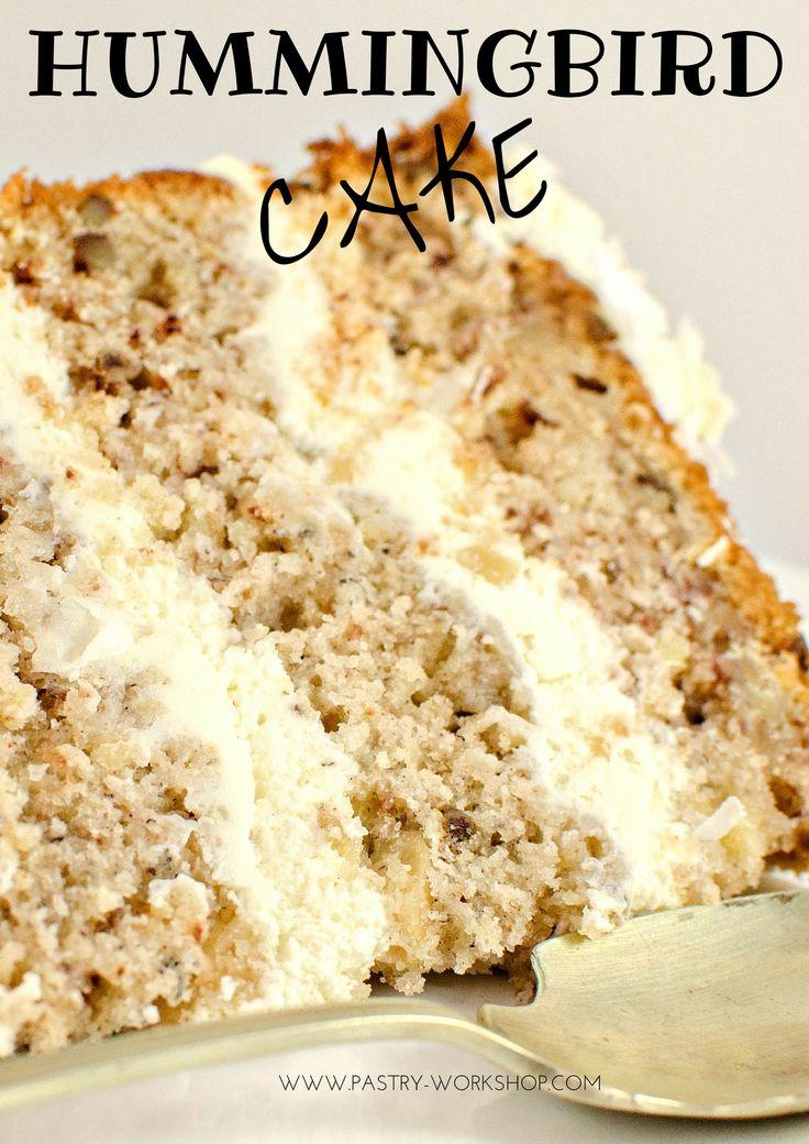 Hummingbird Cake - moist, fragrant, delicious!