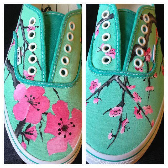 Oh Bloomin' Blossoms< Arizona Green tea vans!!