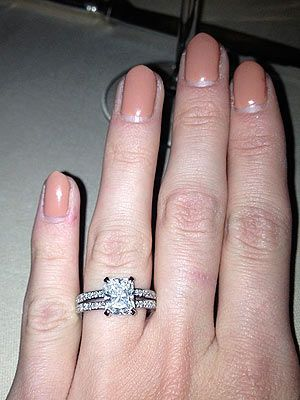 Millie Mackintosh engagement ring manicure picture - How to nail the perfect engagement manicure - Nail tips - Cosmopolitan.co.uk