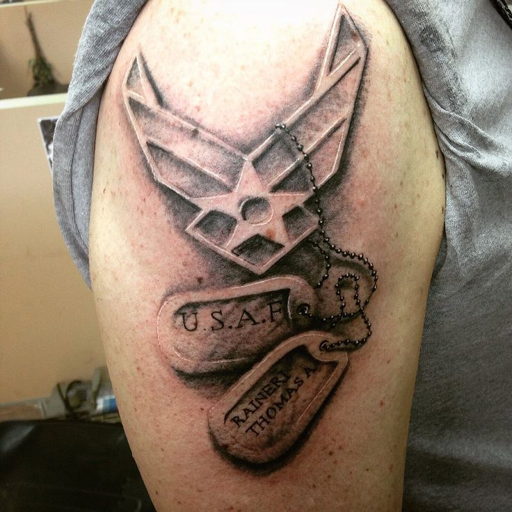 The Air Force tattoos have wings on their designs and the army men sport a lot of POW-MIA-themed images. Description from pinterest.com. I searched for this on bing.com/images