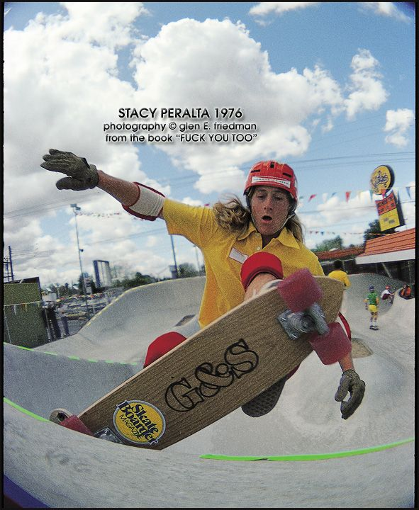 """a focus on surfing and skateboarding in stacy peraltas dog town and z boys Stacy answers his facebook fans sisley brunon what is your favorite doc sp: i don't have a favorite but i'll list one i really like """"when we were kings""""."""