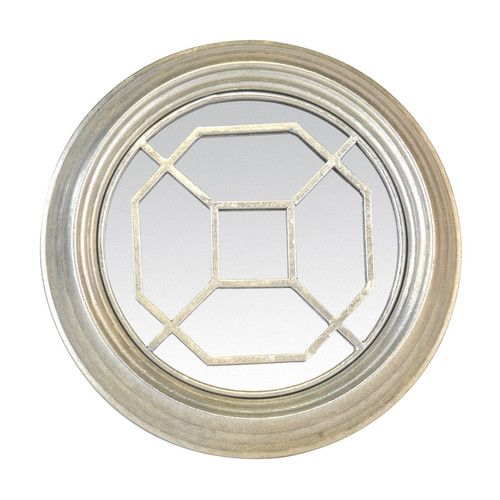 Found it at Wayfair.co.uk - New Riad Metal Round Mirror